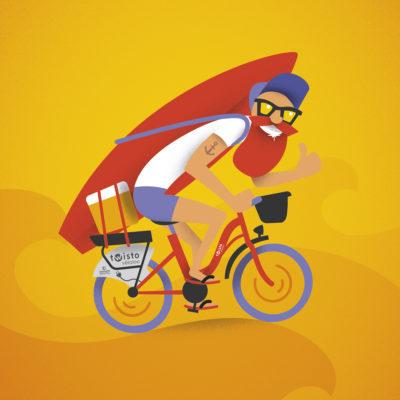 Visuel campagne Twisto Vélolib Véloloc