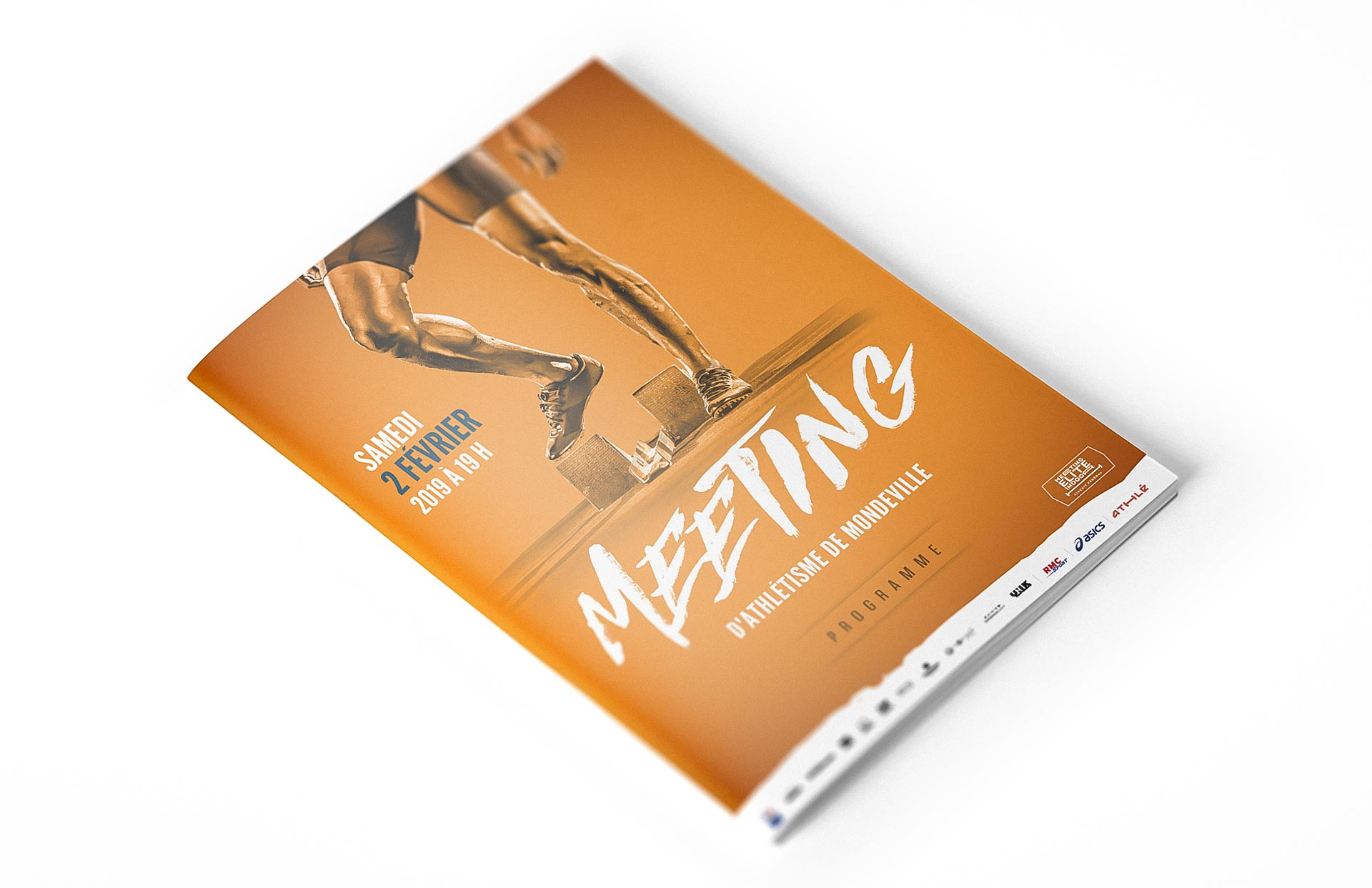 Programme Meeting d'athlétisme