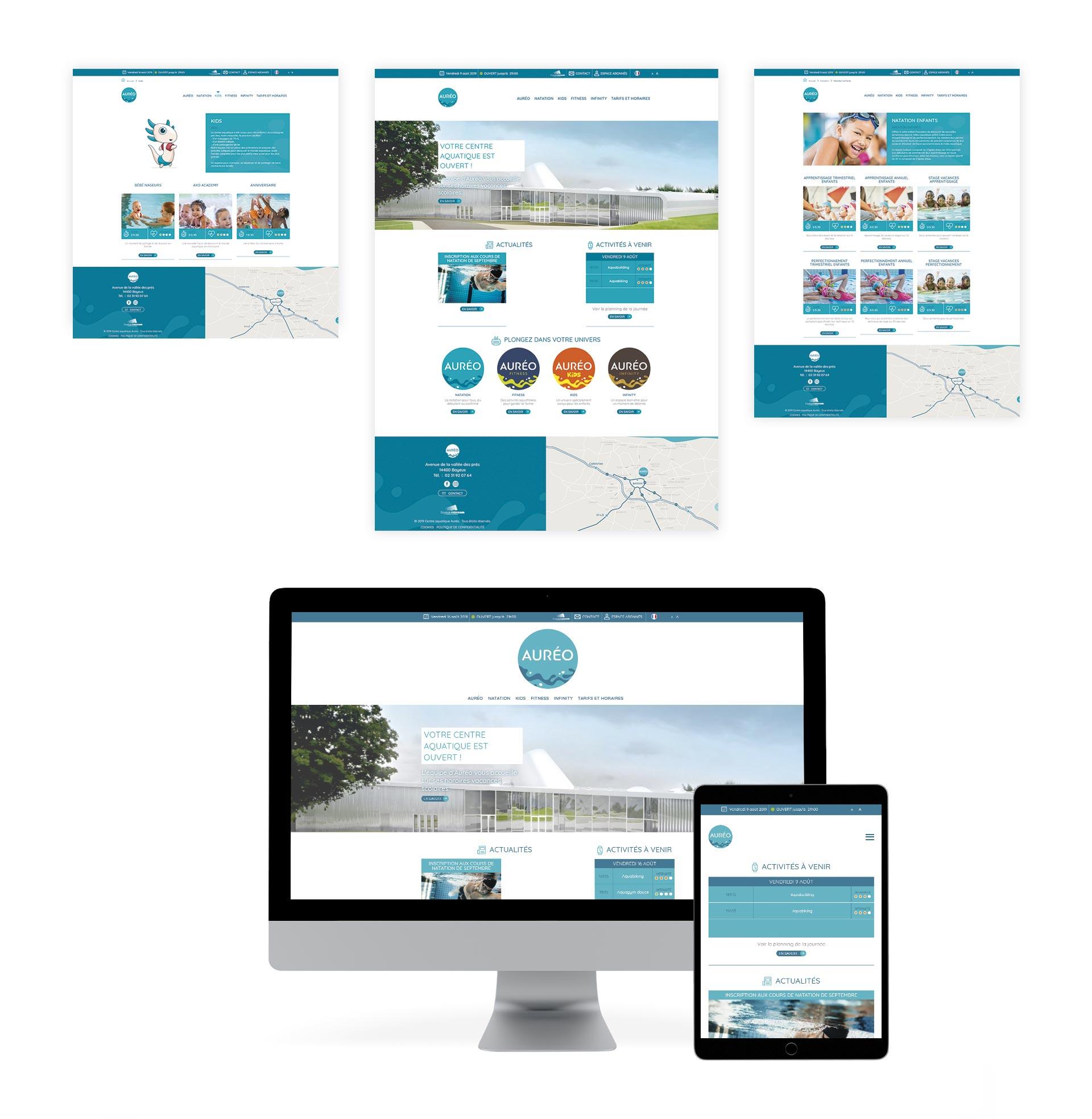 Site web Auréo