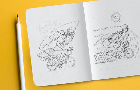 Les illustrations font parties des compétences en conception graphique de notre équipe à Caen