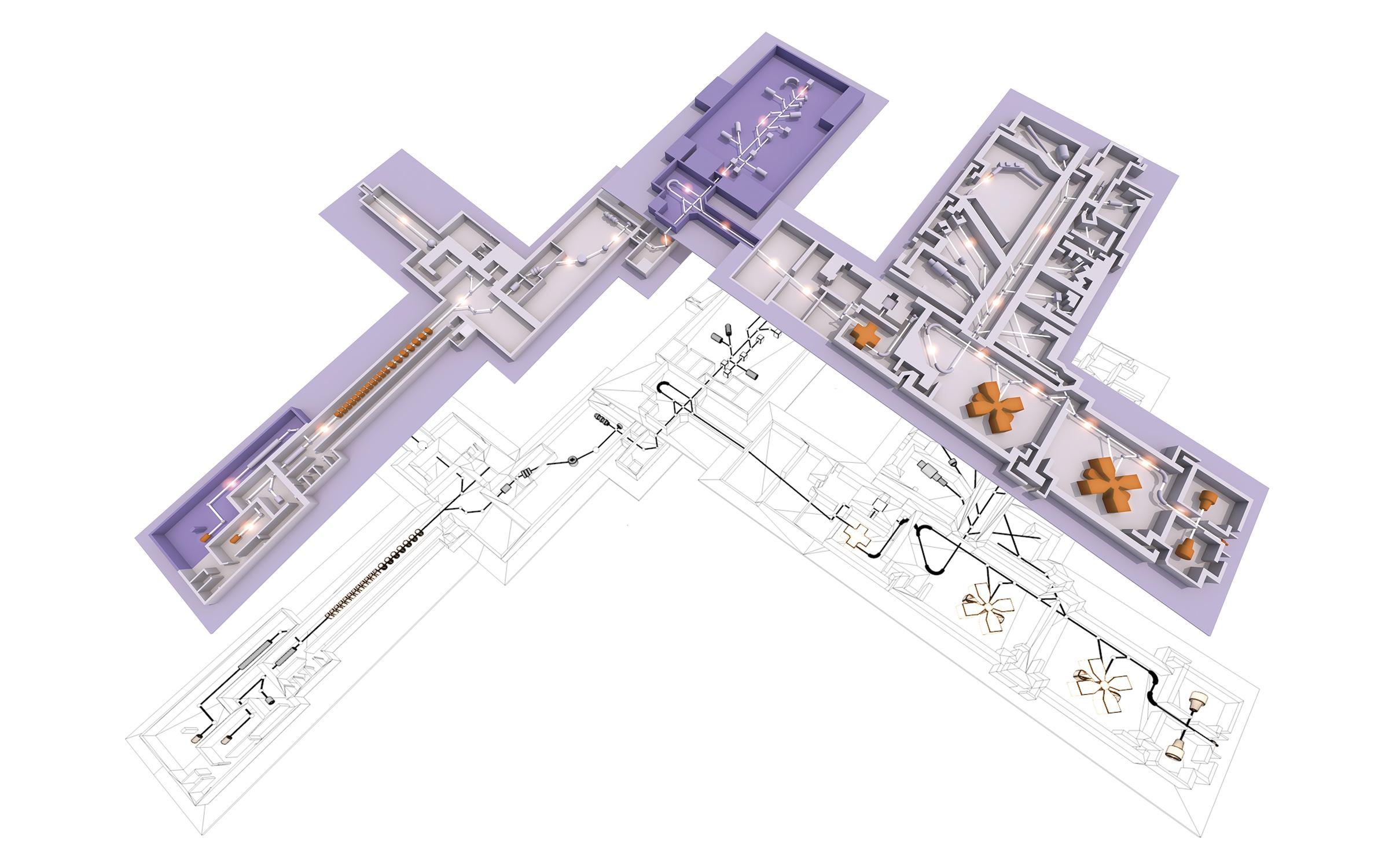 Plan 3D GANIL